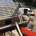 Jetzt noch schnell ein Dach drau
